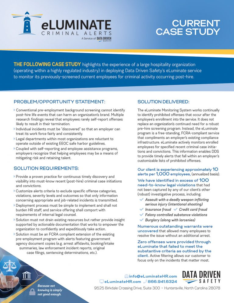 Hospitality Industry Case Study